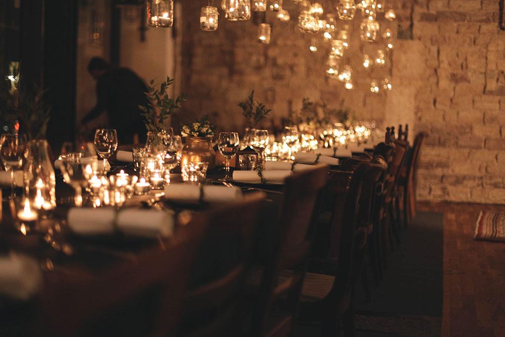 Lichtermeer-Dinner